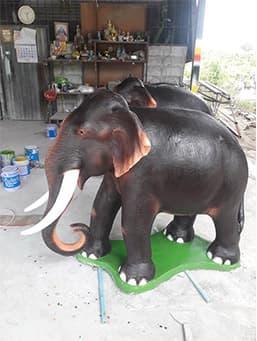 รูปปั้นช้างมงคล